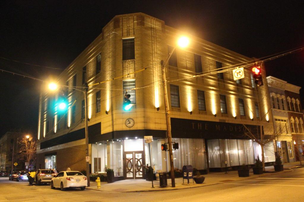 Exterior of the Madison Event Center, Covington, KY